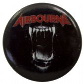 Airbourne - 'Black Dog Barking' Button Badge